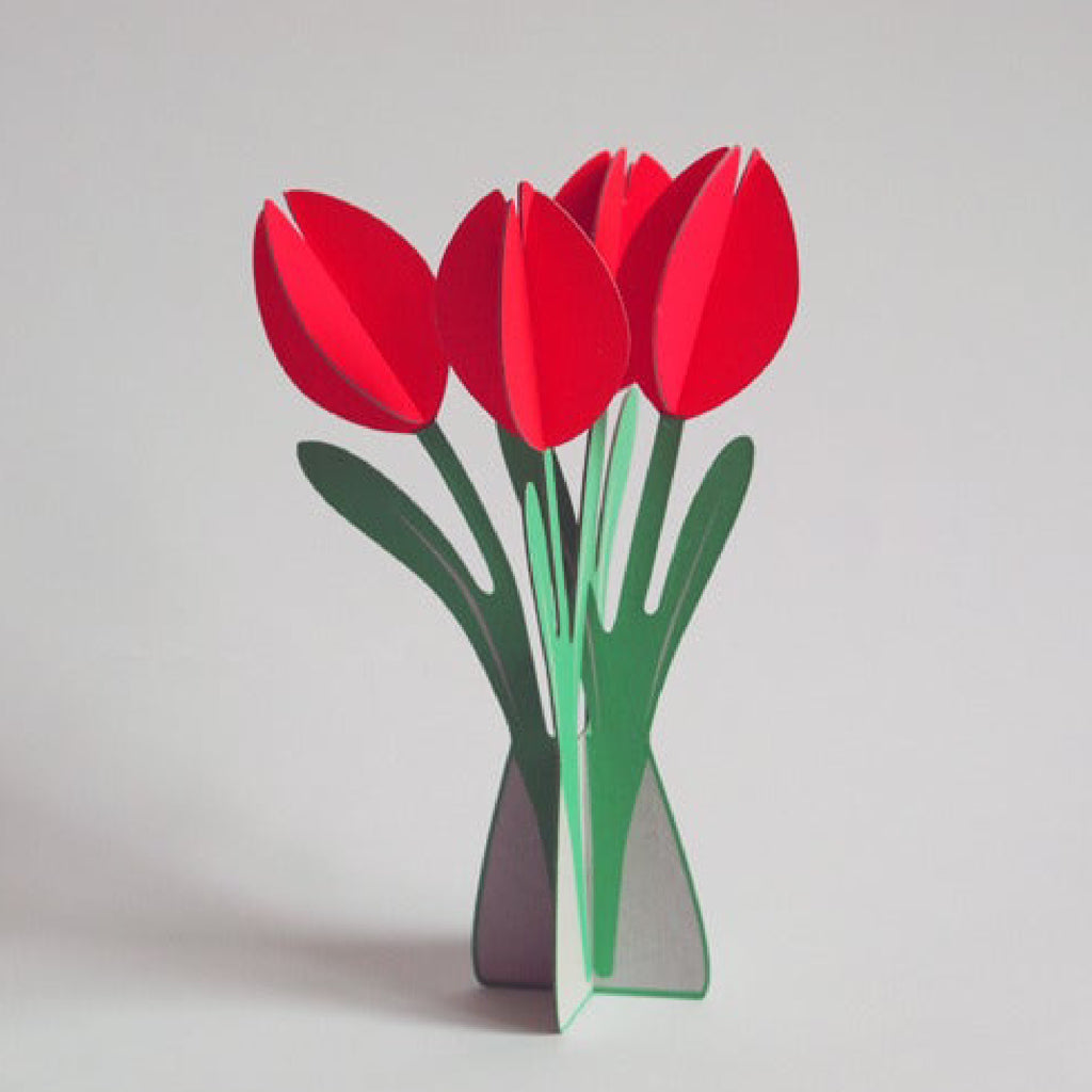 Pop out Tulips