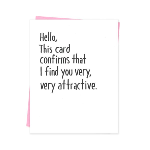 Find you attractive
