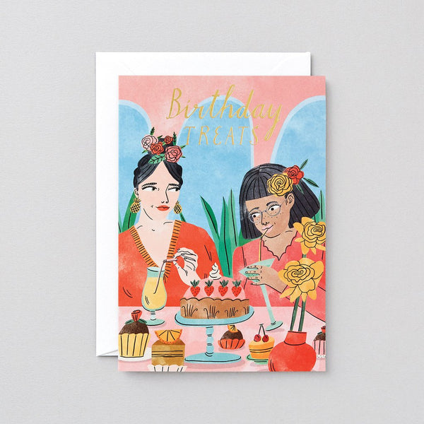 Birthday Treats Greetings Card