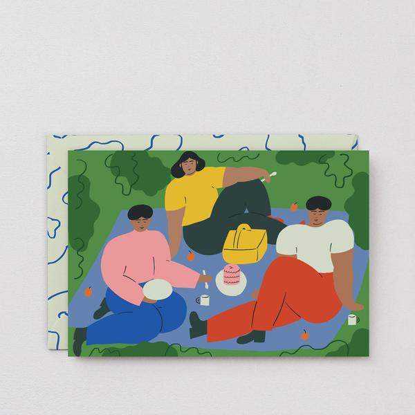 Picnic Art Card