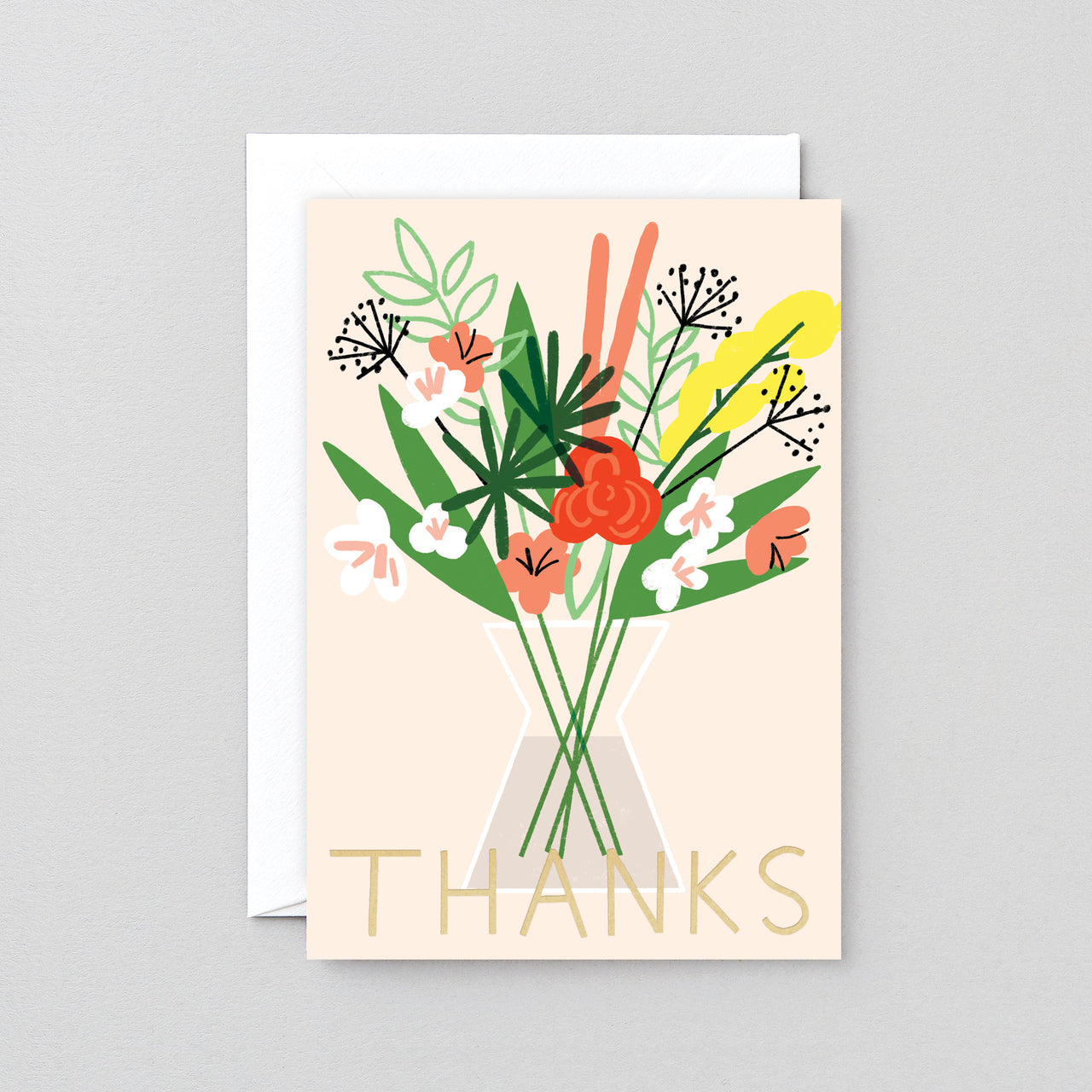 Thanks Greeting Card