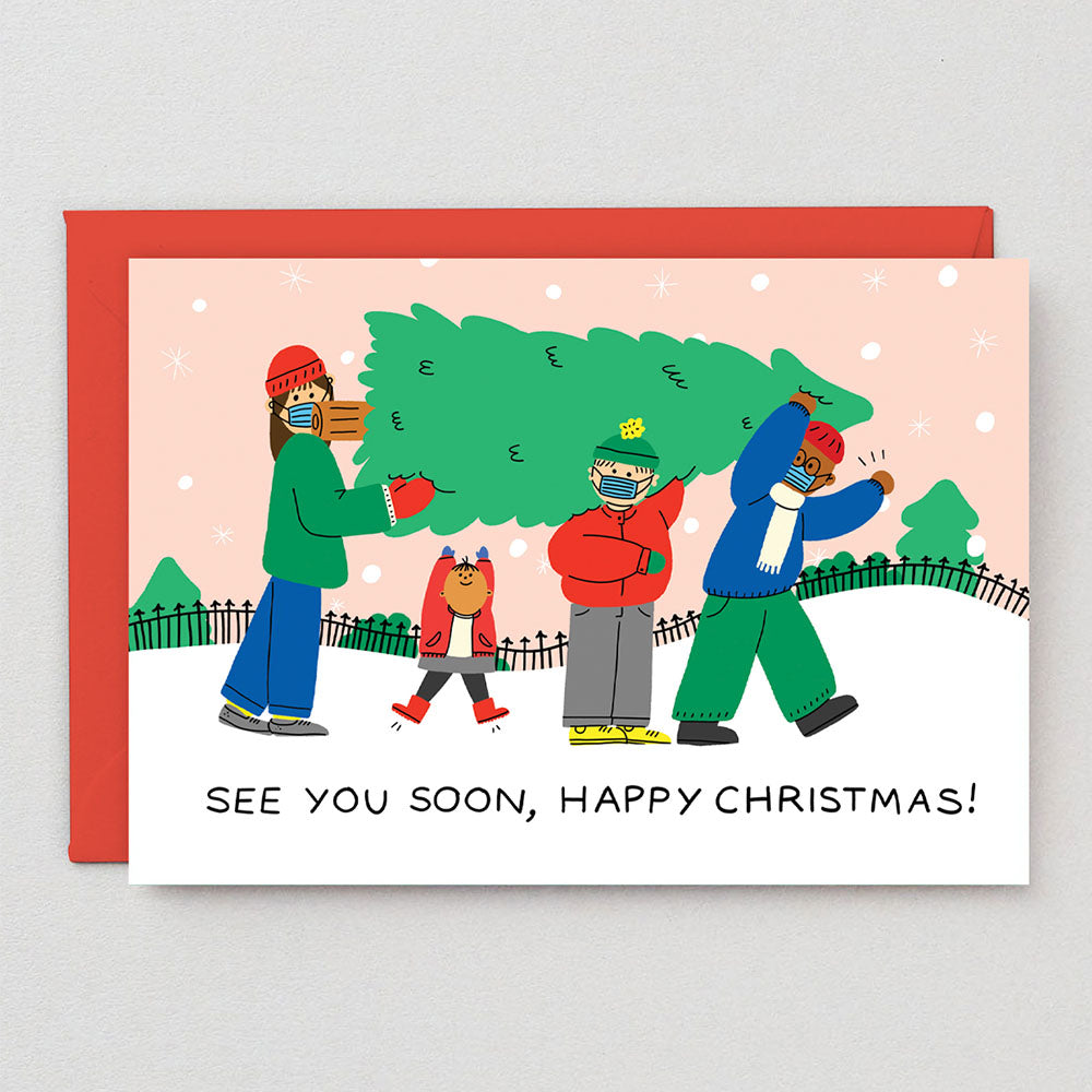 See You Soon Greeting Card