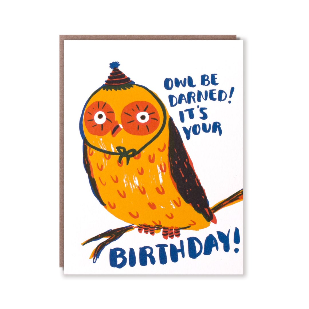 Owl Be Darned Birthday