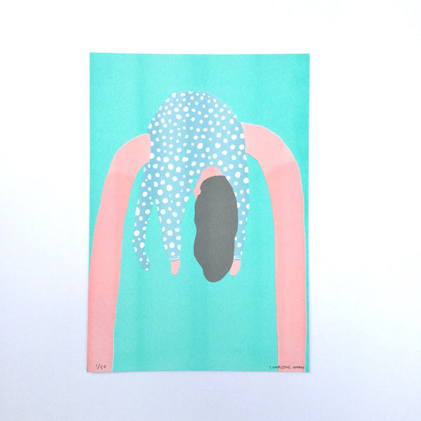 "Hanging On ""Just About"" Riso"