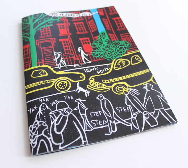 Tune - Linocut Illustrated Story