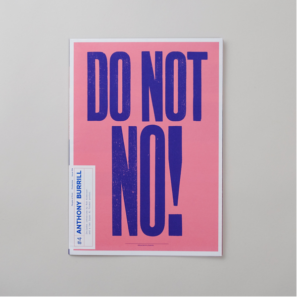 Posterzine Issue 4- Anthony Burrill