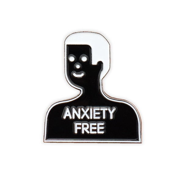Elevator Teeth - Anxiety Free Pin