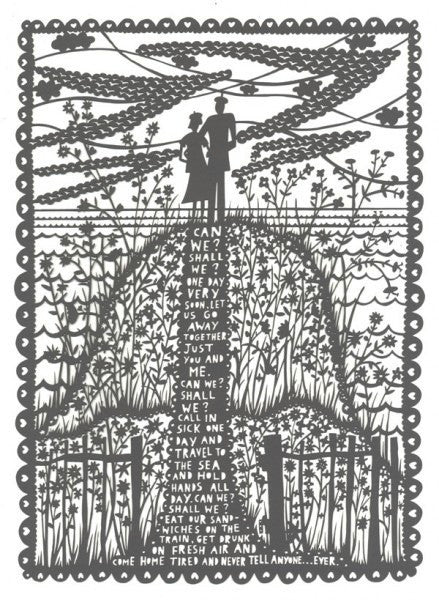 Rob Ryan - Can we?Shall We? Laser Cut