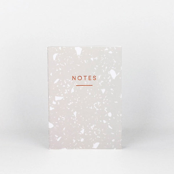 Mini Fragment Notebook – Warm Grey