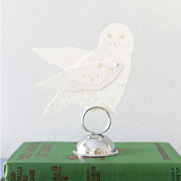 North Star Owl paper Toy
