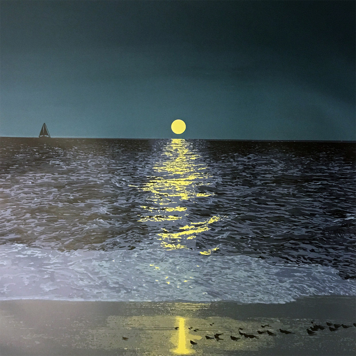 Rapture In The Lonely Shore (Full Moon)