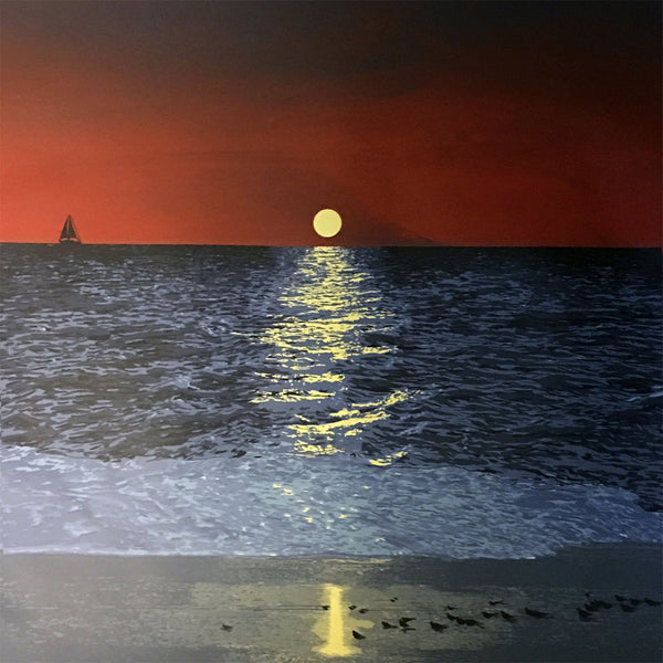 Rapture In The Lonely Shore (Sunset)
