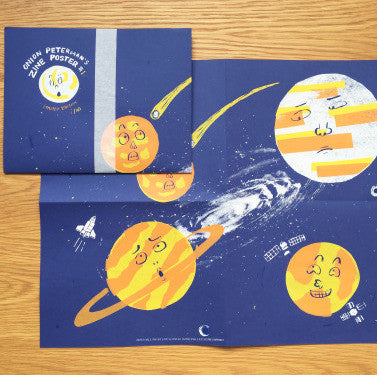 Onion peterman-poster zine#1 : planets