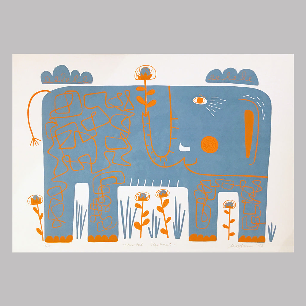 Cheerful Elephant