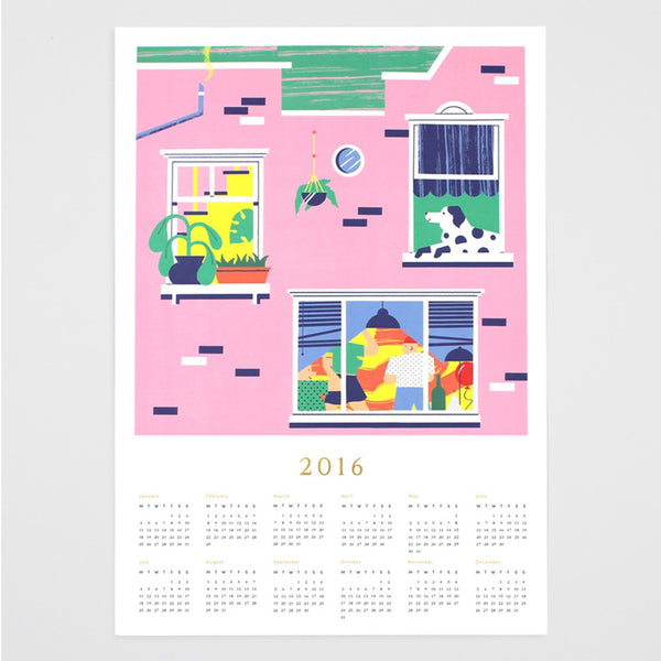 'Windows' 2016 Calendar-Print