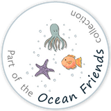 The Friendly Ct Fabrics - Part of the Ocean Friends collection - icon