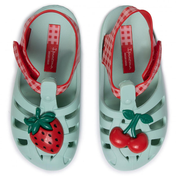 Ipanema Summer Baby VII in Green/Red 82858-20506