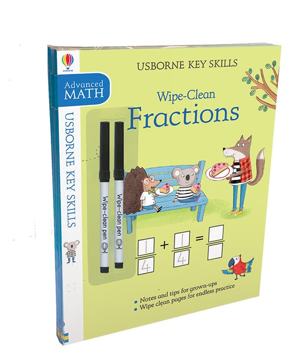 Usborne Wipe-Clean Key Skills Pack: Advanced