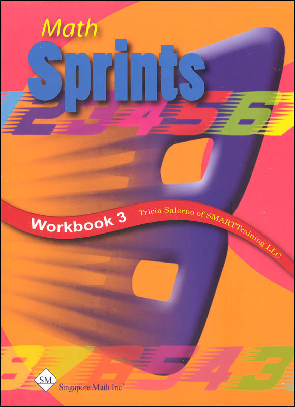 '-Math Sprints Workbook 3