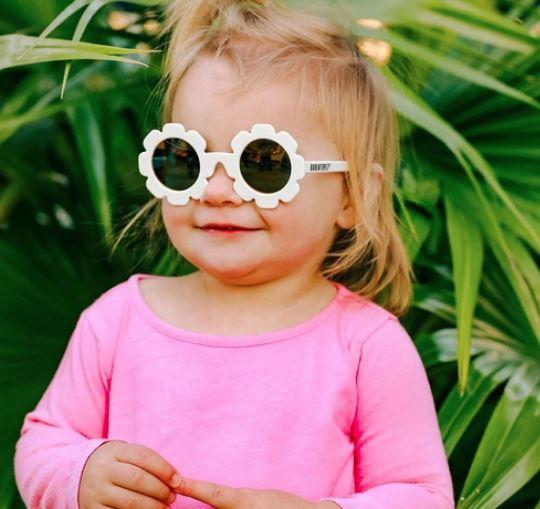 Babiators The Daisy Polarized with Mirrored Lenses Girl Sunglasses