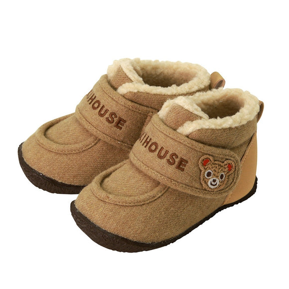xMiki House 13-9303-973-09 Baby Winter Warm Shoes in Beige