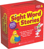 Scholastic Book - Sight Word Stories Grades PreK-2 - Guided Reading Level A (SINGLE-COPY SET)