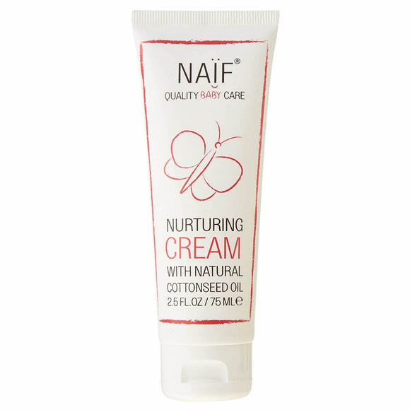 Naif Care - Nurturing Baby Cream - with Natural Cottonseed Oil (2.6 oz)
