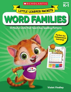 Scholastic Book - Little Learner Packets - Word Families K-1