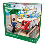 BRIO 33209 Rail & Road Travel Set