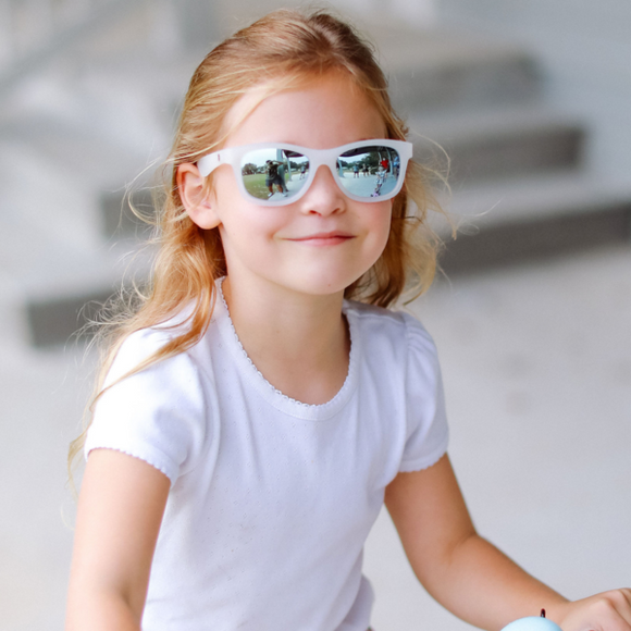 Babiators The Ice Breaker Polarized Sunglasses with Mirrored Lenses