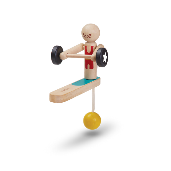 Plan Toys 5366 WEIGHTLIFTING ACROBAT