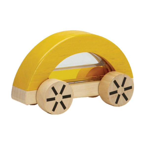 Plan Toys 5449Y WAUTOMOBILE (Yellow)
