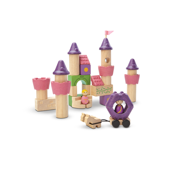 Plan Toys 5650 FAIRY TALE BLOCKS 3Y+