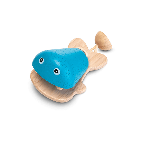 Plan Toys 6435 FISH CASTANET (Blue)
