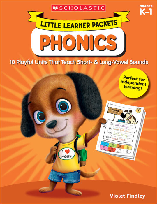 Scholastic Book - Little Learner Packets - Phonics K-1