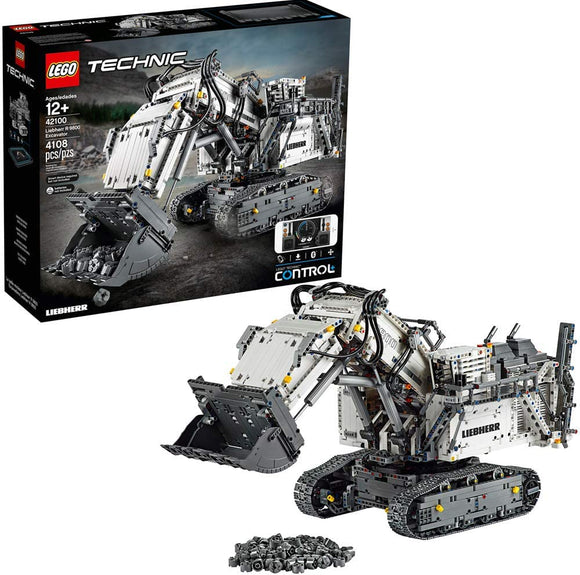LEGO Technic Liebherr R 9800 Excavator Building Kit (4,108 Pieces)