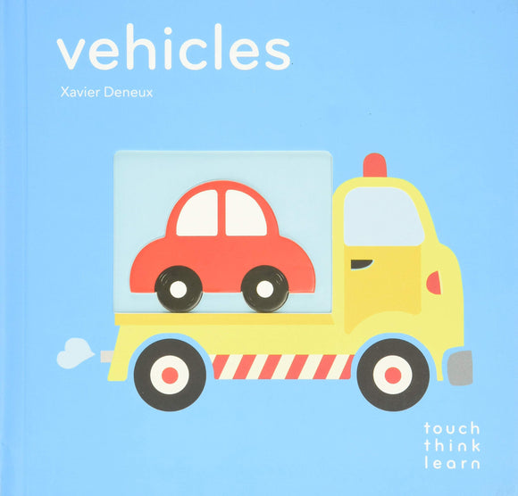 TouchThinkLearn: Vehicles Touch Feel Books 0-3Y