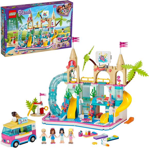 Lego Friends 41430 Summer Fun Water Park 1001 Pieces 8Y+