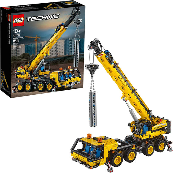 Lego Technic 42108 Mobile Crane 1292 Pieces 10Y+