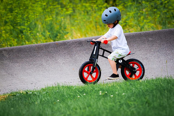 Pre-OrderFirstBike Limited Edition Balance Bike w/ Brake in Orange for Ages 2-5