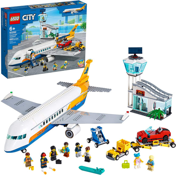 Lego City 60262 Passenger Airplane 669 Pieces 6Y+