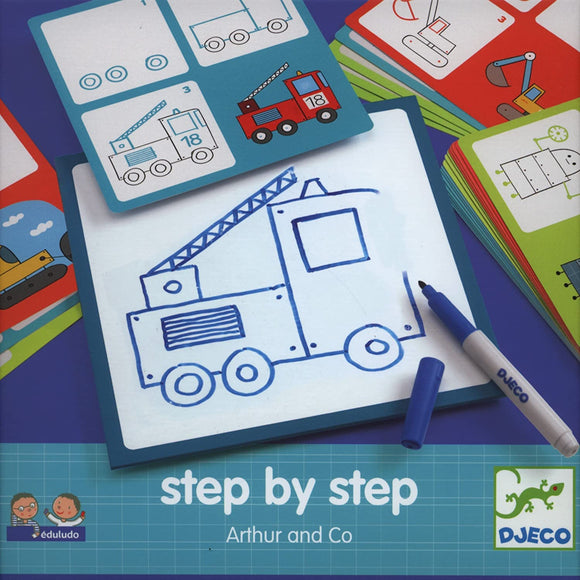 DJECO Step by Step Arthur and Co