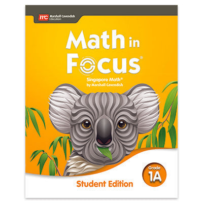 Math in Focus Student Edition Volume A Grade 1