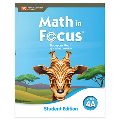 Math in Focus Grade 4 Student Edition Volume A