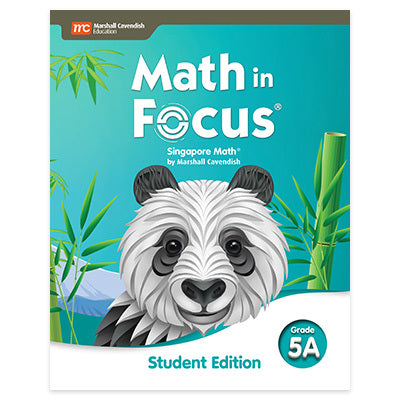 Math in Focus Grade 5 Student Edition Volume A