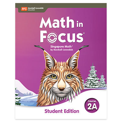 Math in Focus Math in Focus Student Edition Volume A Course 2 (Grade 7)