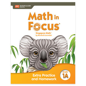 Math in Focus Math in Focus Grade 1 Extra Practice and Homework Volume A