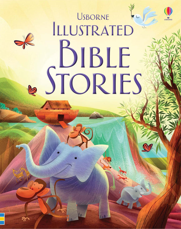 Usborne Illustrated Bible Stories 5+