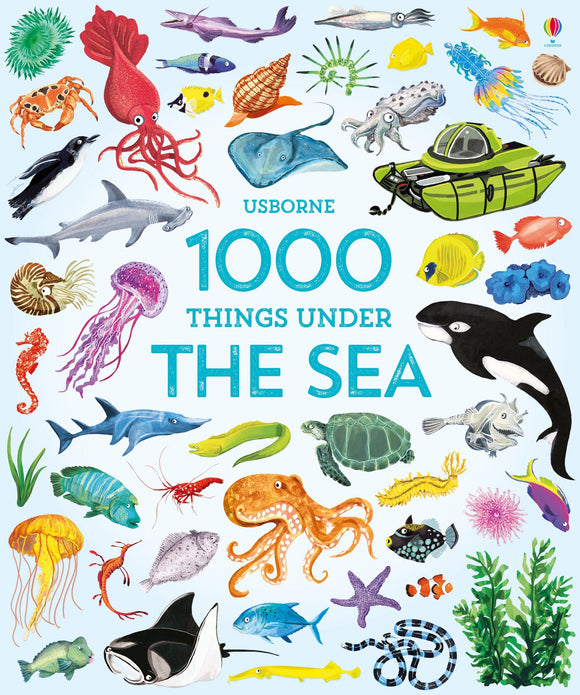 Usborne 1,000 Things Under the Sea 3+