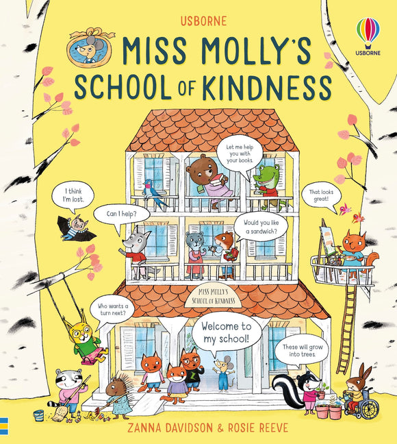 USBORNE Miss Molly's School of Kindness 3Y+